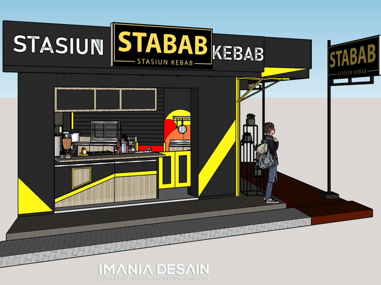Outlet-Stabab-kios