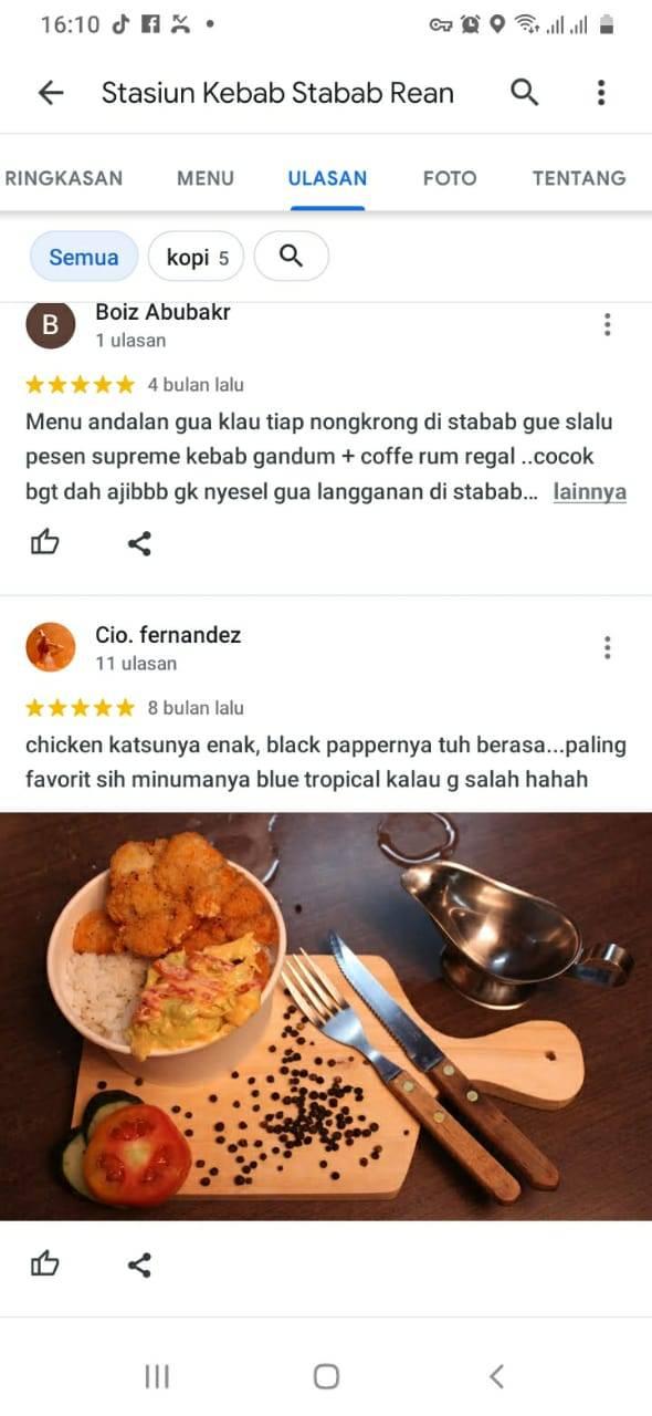 testimoni franchise kebab stabab rean